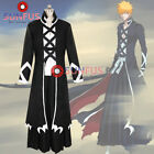 HOT Bleach Ichigo Kurosaki New Bankai cosplay costume outfit Halloween Cloak