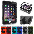 Waterproof Shockproof Heavy Duty Stand Hybrid Silicone Case Cover for iPad 2/3/4