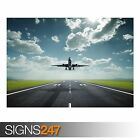 AIRPLANE TAKE OFF (AA006) AIRCRAFT POSTER - Photo Poster Print Art * All Sizes