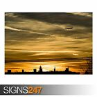 DAWN FLYING (AA031) AIRCRAFT POSTER - Photo Picture Poster Print Art A0 to A4