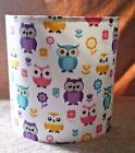 OWL Lampshade Multicolour on White Background 2 Designs