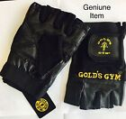 Gold's Gym Max Lift Leather Weight Lifting Gloves (Reduced)