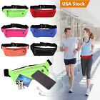 Sports Running Fanny Pack Fitness Bum Bag Waist Belt Travel Hiking Zipper Pouch