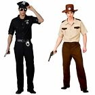 US SHERIFF COP FANCY DRESS OUTFIT PATROL POLICE OFFICER AMERICAN UNIFORM USA