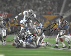 Dallas Cowboys #78 LEON LETT Signed Autographed Football 8x10 Photo COA!