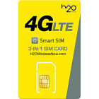 H2O Wireless Micro Sim Card with First Month Included : $50 Plan H20 Micro