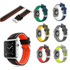 Silicone Replacement Sports Strap Band for Apple Watch Series 4 /3 / 2 / 1 image