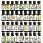 100% Pure Natural Essential Oils 10ml (0.3oz)  - Choose From 60 - FREE SHIPPING