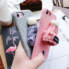 Fashion PU Leather Soft Silicone TPU Back Case Cover For Apple iPhone 6S 7 Plus
