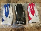 NIKE VAPOR CARBON ADULT FOOTBALL RECEIVER GLOVES, PGF242, NEW, NFL TEAM ISSUED