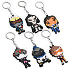 Overwatch Reaper Tracer Keychain Key Ring Pendant Collectible Gift Silicone New