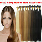 "16""18""20""22""24"" 100S party Stick I Tip Remy Straight 100% Human Hair Extensions"