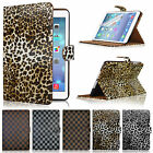 Smart Stand Magnetic Leather Case Cover Grid Leopard For APPLE iPad Air 2013