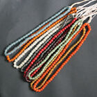 African Beads Recycled Glass Handmade Krobo Ghana Round 8 mm Many Colours 30 Pk