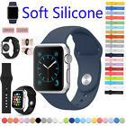 Replacement Soft Silicone Wrist Bracelet Sport Watch Band Strap For Apple Watch