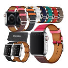 Apple Watch Series 5 4 3 2 Band Bandkin Single Tour Genuine Leather iWatch Strap image
