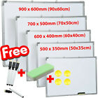 LARGE MAGNETIC WHITEBOARD DRY WIPE DRAWING BOARD&ERASER OFFICE SCHOL NOTICE MEMO