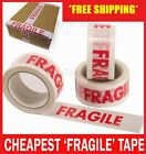 FRAGILE PRINTED STRONG PACKING PARCEL TAPE BOX SEALING 48MM 2
