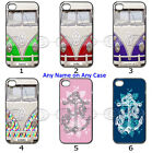 Designer Phone Hard Case Cover Personalised Vintage Van Anchor Collection 13