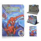 Comic Hero Flip Smart PU Leather Stand Case Cover For Universal 7'' Inch Tablet