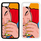 DC Superman Pop Art Printed Back PC Case Cover - S-T246