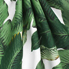 Swaying Palms Aloe LINEN by Tommy Bahama, Green Leaves Drapery Fabric - by yard