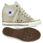 Converse Chuck Taylor All Star Lux Washed Canvas 547194C Beige Wedge Women Shoes