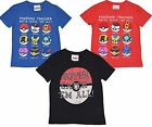 OFFICIAL FULLY LICENSED POKEMON SHORT SLEEVE TSHIRT/TOP 6-13 YEARS