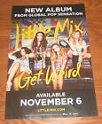 Global Pop Sensation Little Mix Get Weird Poster Original 2-Sided Promo 17x11
