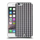 HEAD CASE DESIGNS GINGHAM-PATTERNS SOFT GEL CASE FOR APPLE iPHONE 6 6S