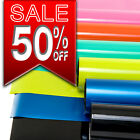 GLOSS VINYL STICKER WRAP - AIR FREE ADHESIVE BACKING - ALL COLOURS