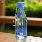 550ml BPA Free Cycling Bicycle Sports Unbreakable Plastic Water Bottle Braw