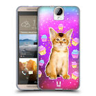 HEAD CASE DESIGNS REAL CATS IN ARTIFICIAL SPACE GEL CASE FOR HTC ONE E9+ PLUS