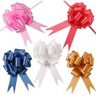 30mm 30pcs Pull Bows Wedding Party Ribbons Car Gift Wrap Decoration Floristry