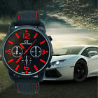 GT Vogue Sport Mens Watch Stainless Steel Analog Quartz Military WristWatches image