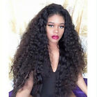 Hot Sale 160% density Deep Curly full/front lace wig Brazilian Human Hair Wigs
