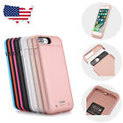 External Battery Backup Charging Charger Case Power Bank For iPhone 7 8 plus