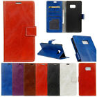 PU Leather Flip Credit Card Slots Stand Cover Case Wallet For Samsung Galaxy