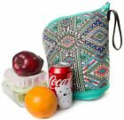 Slope Neoprene Cooler Lunch Bag Wall Insulated Tote Thermal Leekproof Lunch Box