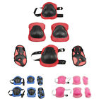 Children Cycling Roller Ski Skating Protective Gear Knee Wrist Elbow Pad Set