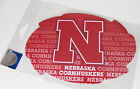 """1 Pair NCAA Swirl Magnets 6 1 2"""" Wide x 4 1 2"""" High Logo Pick Your Team College"""