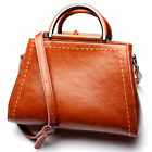 Women's Genuine Leather Handbag Purse Totes Fashion Retro Shoulder Messenger Bag