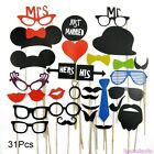 Birthday Hat Party Decorations On A Stick Photo Booth Props Moustache Masks
