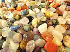 Tumbled Gemstone Crystals Undyed Rocks Reiki Stones Crystal Mix - Pick Weight