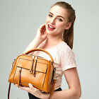 New Fashion Lady Womens Real Leather Messenger Bag Hobo Cosmetic Bags Handbag