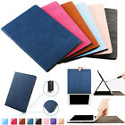 Wood Grain PU Leather Stand Case Smart Cover for Apple iPad Mini/ iPad Air/ Pro