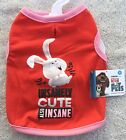 Insanely Cute Also Insane Snowball The Secret Life of Pets Pink Shirt