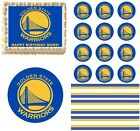 Golden State Warriors Edible Cake Topper Image Cupcakes Cookies Cake Topper on eBay