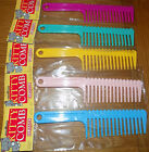 Classic Plastic Wide Tooth Kitty Cat Pet Comb Available In 5 Colours