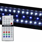 12&quot;-72&quot; Remote Control Aquarium LED Light  Plant +24/7 HI LUMEN RGB Automate <br/> AQUANEAT 10000K, Red, Green, Blue, 4x Modes, Automation